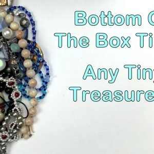 It's The Bottom Of The Box! Jewelry Lot From eBay Unboxing! What Tiny Treasures Will I Find? 3 of 3