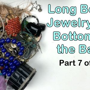 27.5 Pound Long Beach Jewelry Lot Unboxing: The Bottom Of The Box! Part 7 of 7. Adorable Stuff!