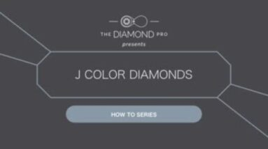 J Color Diamonds: When Are They Worth Buying?