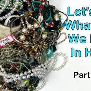 Thick Awesome Bracelets & So Much More! Opening a 32 Pound Jewelry Lot from California! Part 5 of 8