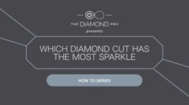 Which Diamond Cut Has The Most Sparkle?