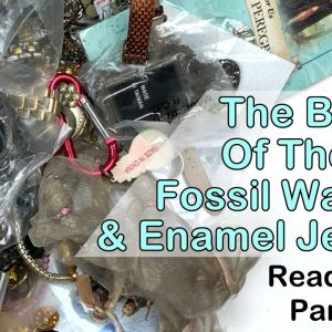 Bottom Of The Box! Jewelry from Reading PA. More Watches, Nice Enamel, and a Power Cut! Part 5 of 5